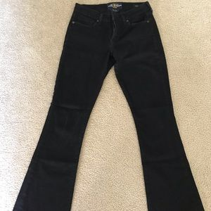 LUCKY brand black flare jeans NWOT!